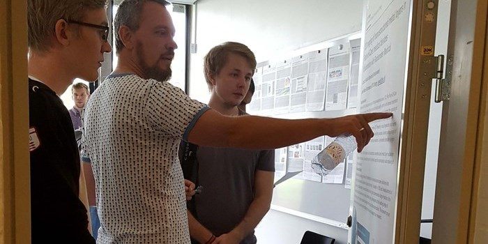 Researchers and professors from DTU Energy presented proposals for projects and courses at the DTU Energy Student Fair 2016